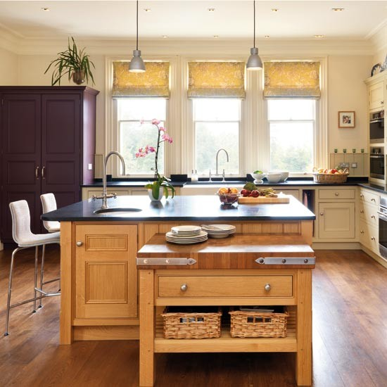 Timeless Kitchen With Old White Farrow And Ball On The: Take A Tour Around A Timeless Family Kitchen