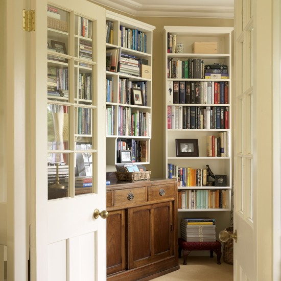 Library shelving  Living room storage ideas  Living room  Storage ...