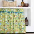 Add a splash of colour to your bathroom with this fun retro curtain