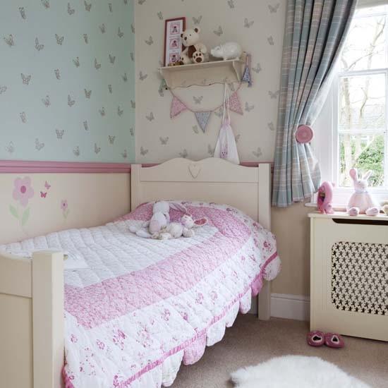 Classic Pastel Bedroom
