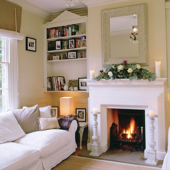 Painting a fireplace and alcoves interior design ideas for Alcove ideas decoration