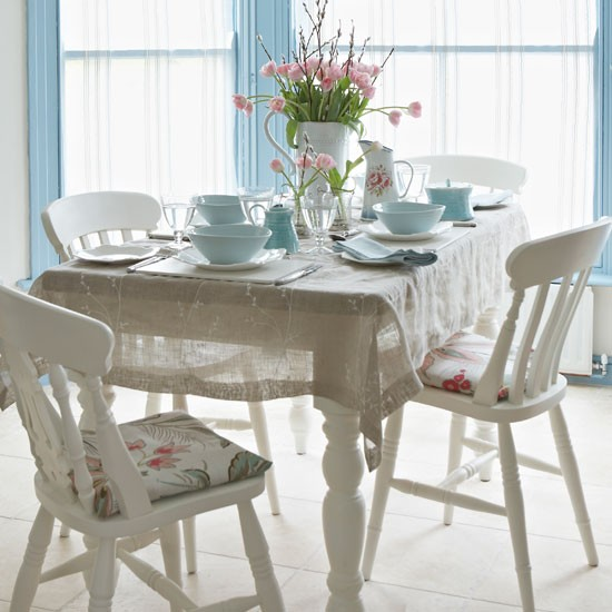 How To Cover A Seat Pad Co Ordinate Dining Chairs With