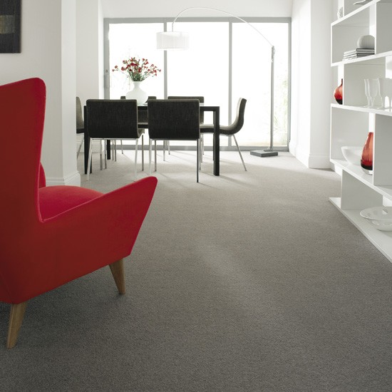 Grey Living Room Carpet
