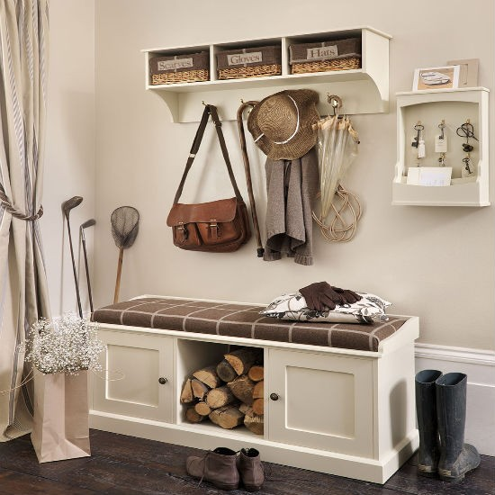 Storage Bench And Shelf From The Dormy House Hallway Storage Ideas 10 Of The Best