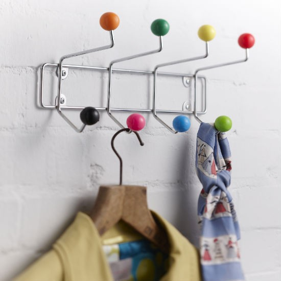 Retro coat rack from The Contemporary Home | Hallway storage | Hallway | PHOTO GALLERY | Ideal Home | Housetohome