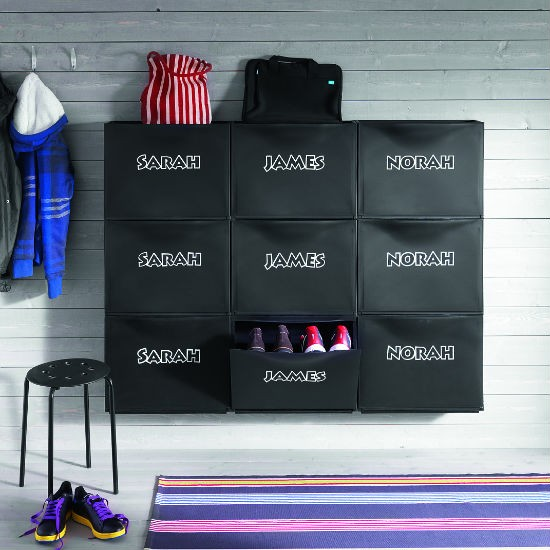 shoe storage from ikea hallway storage ideas 10 of the best. Black Bedroom Furniture Sets. Home Design Ideas