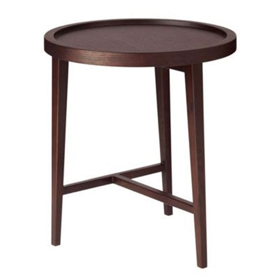 Boston side table from oka round side tables 10 of the for Black wood side table