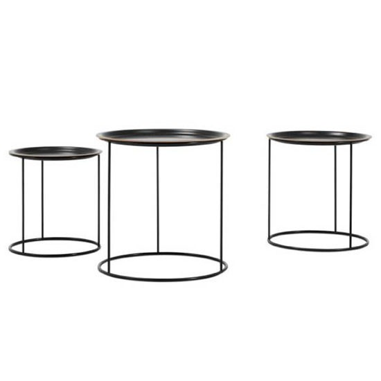 round side tables from BoConcept  Occasional table  Coffee table