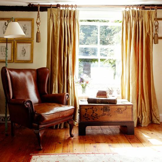 Living Room Chair Peep Inside A Norfolk Farmhouse