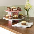 Invite friends to tea and display your sugary creations on this pretty cake stand
