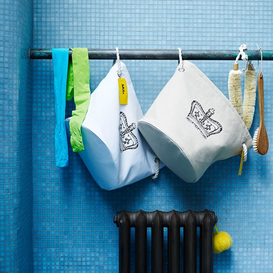 Bathroom laundry storage| Family bathroom ideas 10 of the best | Bathroom | PHOTO GALLERY | Housetohome