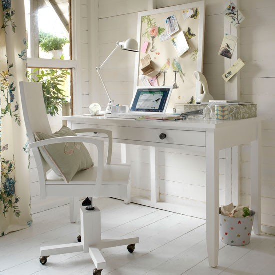 Create a garden room study | home office | country | Country Homes & Interiors