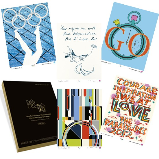 Limited edition collectors box set of Olympic artwork