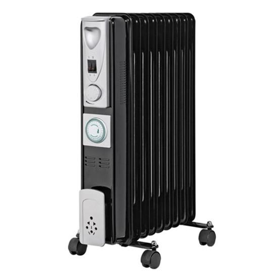 black oil filled radiator from argos radiators 10 of. Black Bedroom Furniture Sets. Home Design Ideas