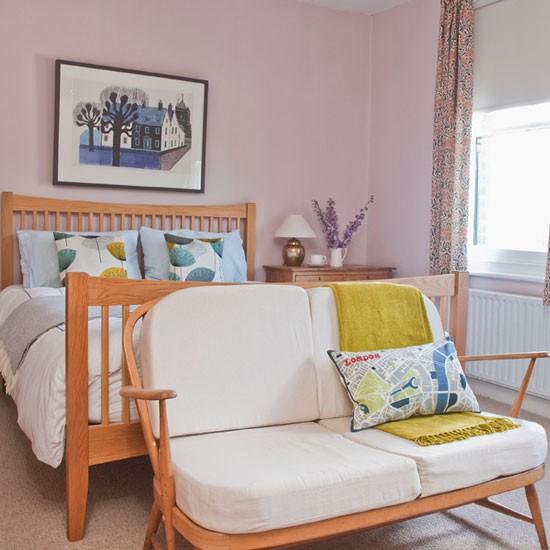 Vintage Bedroom Mid Century Style Edwardian Terrace
