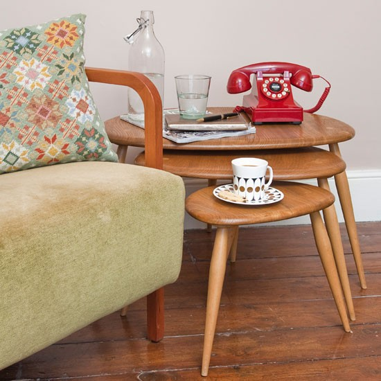Nest of tables | Mid-century | Edwardian | PHOTO GALLERY | Ideal Home | housetohome
