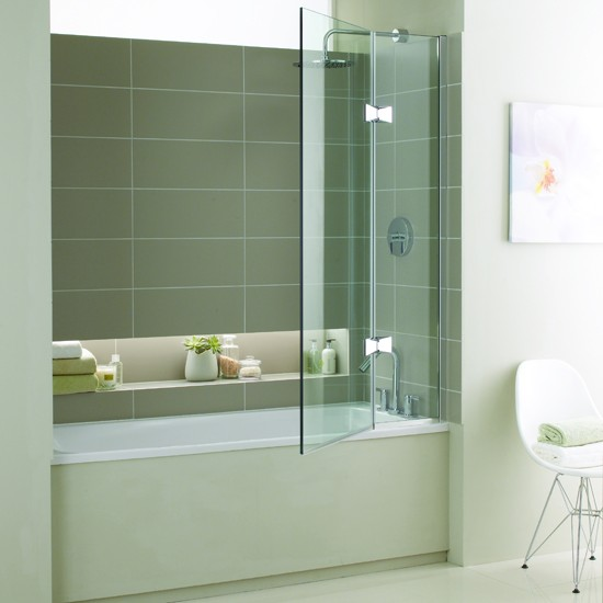 Minima shower bath from West One Bathrooms | Shower baths - 10 of the best | shower baths | bathroom ideas | compact bathroom ideas | small bathroom ideas | PHOTO GALLERY| 25 Beautiful Homes | housetohome