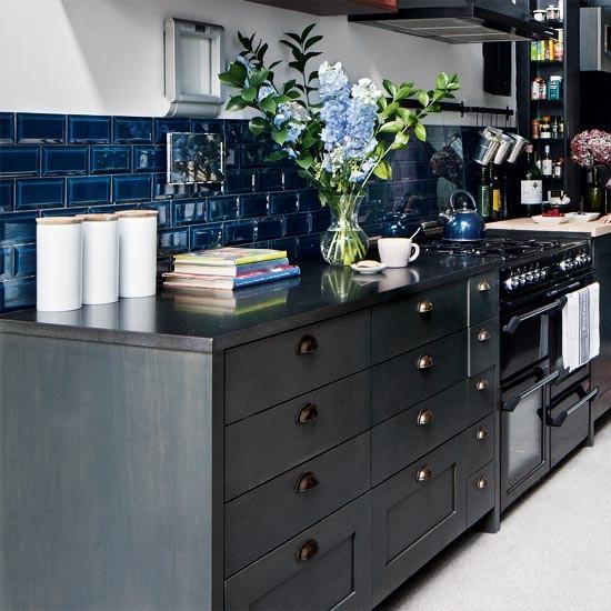 Blue Kitchen London: Take A Tour Around A Five-storey Townhouse In