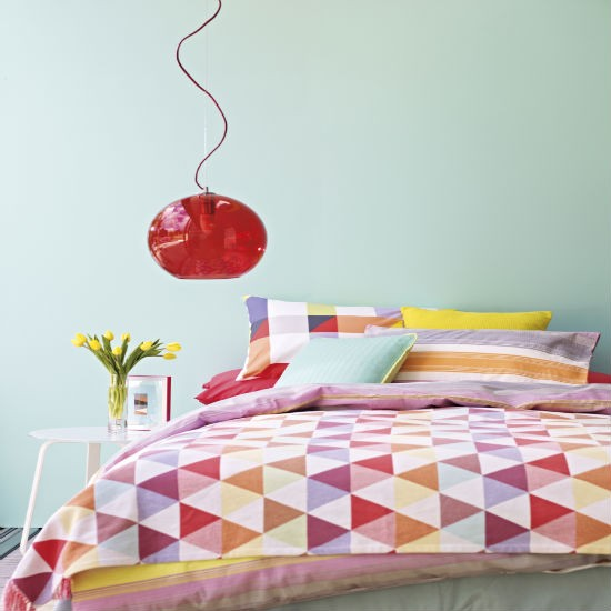 New Geometric bedlinen from Marks & Spencer