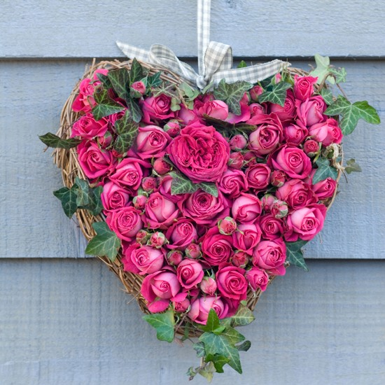 Pink rose heart from Figa &amp; Co | Valentine's Day gifts 2012 | Valentine's Day | Housetohome