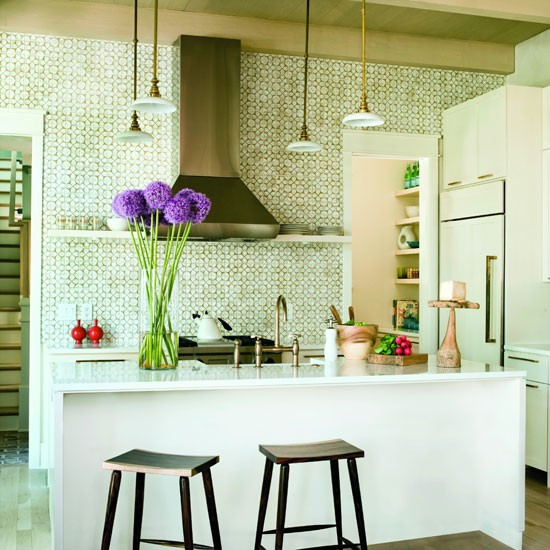 Kitchen with Ann Sacks patterned tiles | Splashback | Room idea | Housetohome | PHOTOGALLERY