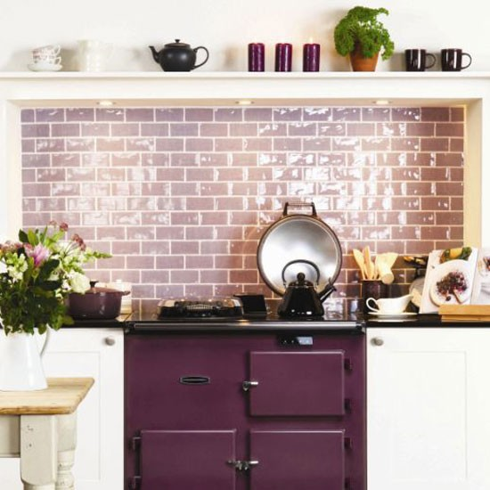 Kitchen splashback ideas the diy decorating group babycentre - Kitchen splashback tiles ideas ...
