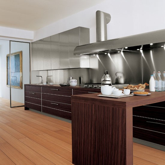 Amazing Kitchen with rosewood and stainless steel units from Schiffini  550 x 550 · 57 kB · jpeg