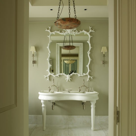 Original Beautiful And Elegant Mirror Frame Kits  Traditional  Bathroom
