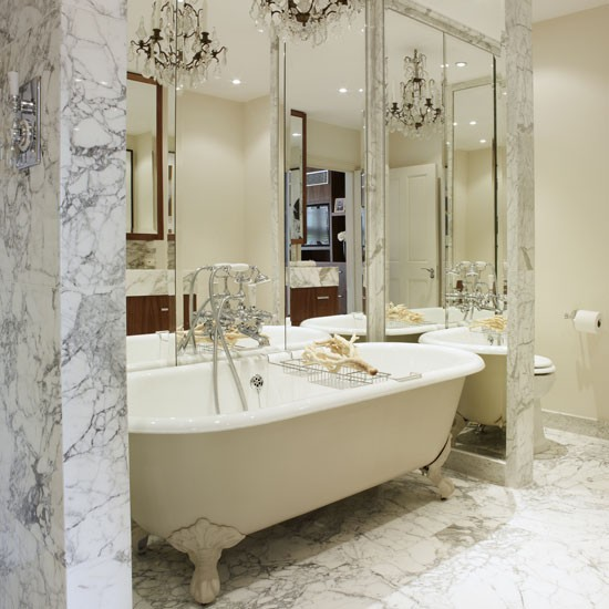 mirror mirror classic bathroom decorating ideas