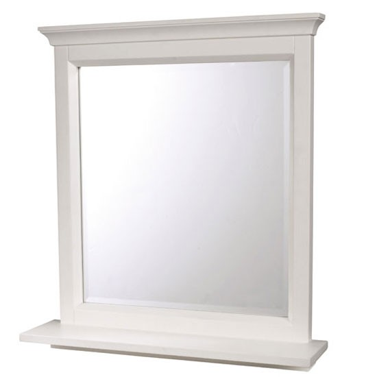 bathroom mirror with shelf from the white company product idea