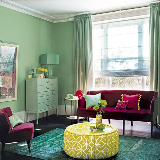 Bold colourful living room living room designs housetohome co uk