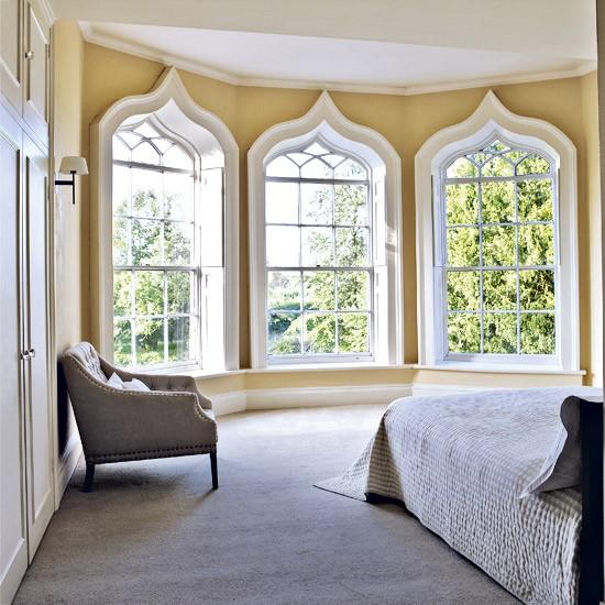 Decorative bedroom windows window treatments - Decorative windows for houses ...