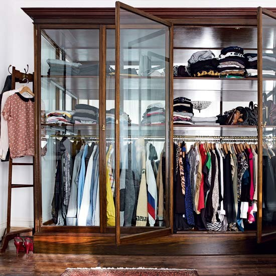 Clothes storage | Take a tour around a London home filled with antique treasures | House tour | Livingetc | PHOTO GALLERY