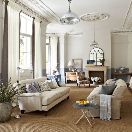 Provence style living room with light and space | Design ideas ...