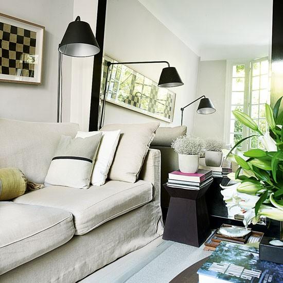 Retro modern-style living area