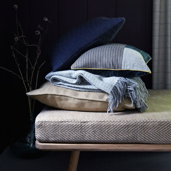 Selection of cushions stacked on a daybed | Design ideas | Housetohome | PHOTOGALLERY