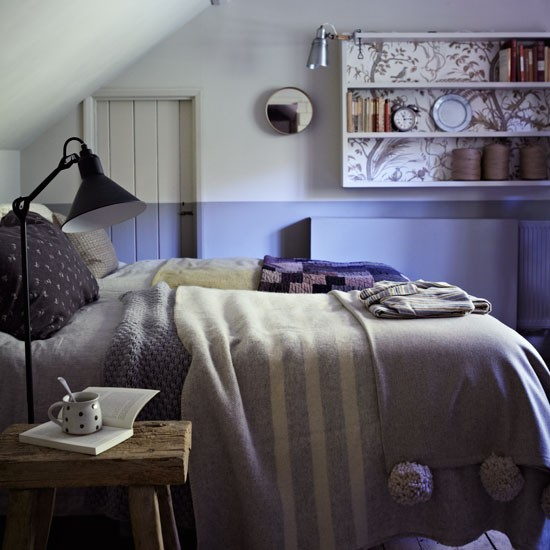 Softly coloured bedroom with mismatched layered bedding | Design ideas | Housetohome | PHOTOGALLERY