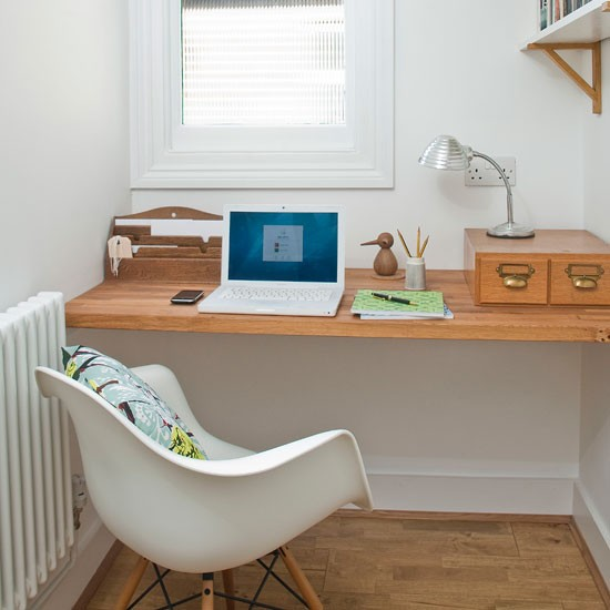 Traditional mid-century style office
