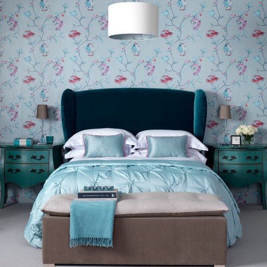 Luxurious blue bedroom | Fresh blue bedroom makeovers | Design | Ideal Home | PHOTO GALLERY | Housetohome.co.uk