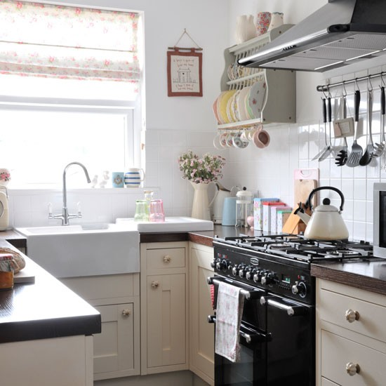 Vintage house tour finishing touch interiors for Small victorian kitchen designs