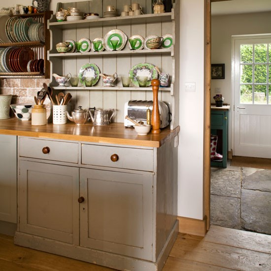 Dress up a dresser | kitchen storage | country | Country Homes & Interiors