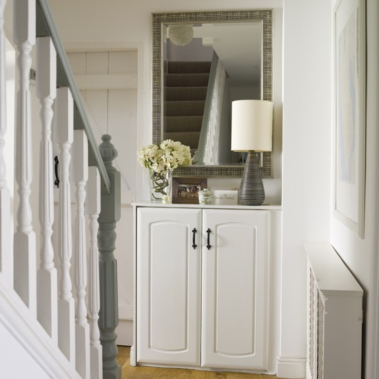Hallway modern country home - Country cottage hallways ...