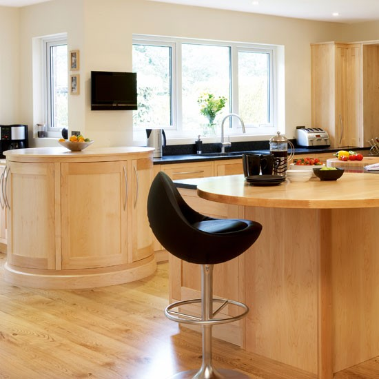 Maple worktops by Underwood | Wooden worktops - 10 of the best | Kitchen worktops | Beautiful Kitchens | PHOTO GALLERY