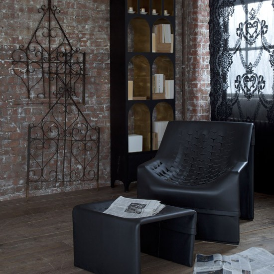 Gothic living room seating living room armchairs for Gothic living room ideas