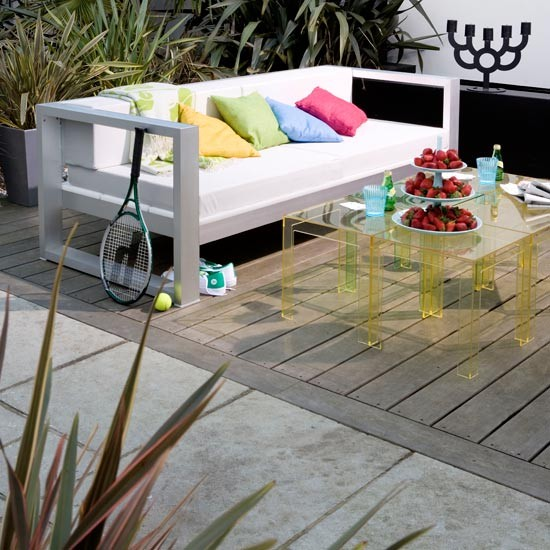 Mix and match decking | Garden decking design ideas - 10 of the best | Gardens | Livingetc | PHOTO GALLERY