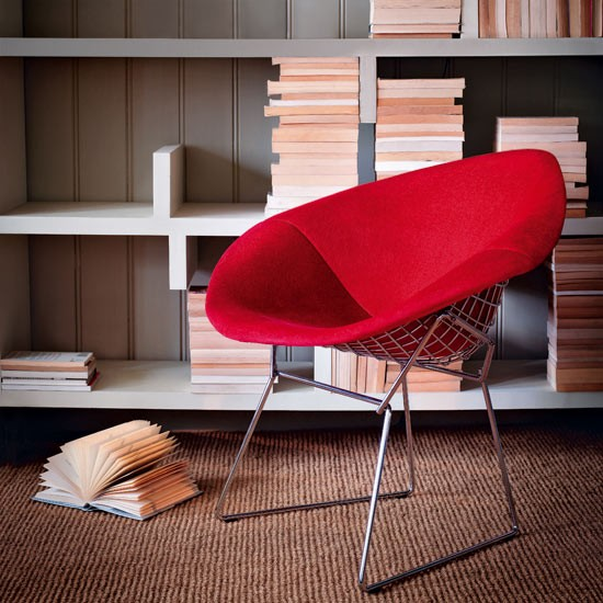 Diamond chair by Harry Bertoia | Livingetc design classics | modern decorating | furniture and accessories | PHOTO GALLERY | Livingetc | Housetohome