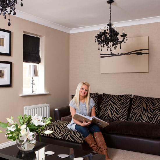 Living room | Shona's daring new-build town house town house | House Tour | Style At Home | PHOTO GALLERY | Housetohome.co.uk