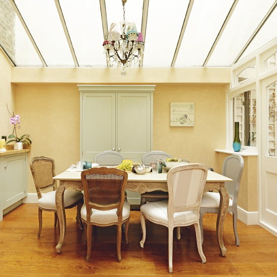 Neutral French-style Dining Room