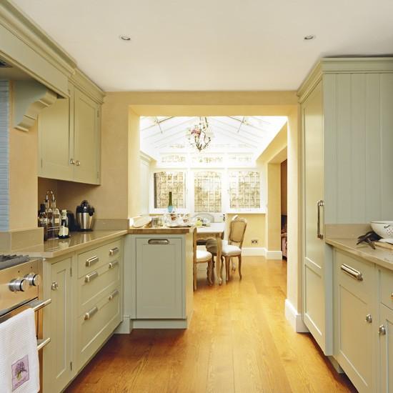 warm french style kitchen kitchen homes gardens