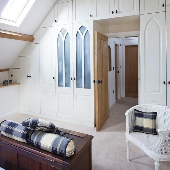 Chic Built in Bedroom Storage Housetohomecouk